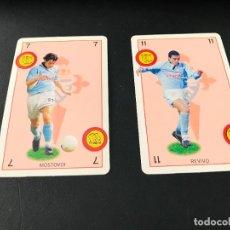 Cromos de Fútbol: BARAJAS NAIPES FUTBOL MARCA - LIGA 1998-99 - JUGADORES CELTA DE VIGO. Lote 221537327