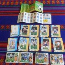 Cromos de Fútbol: ESTE LIGA 97 98 45 CROMO SIN PEGAR CON FICHAJE 2 REGALO 10 MAGIC-CARD MATUTANO 94 95 CHECK LIST Y. Lote 221538172