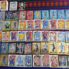 Cromos de Fútbol: LOTE 136 CROMO ADRENALYN XL 2017 18 CON 51 ÍDOLOS CAMPEÓN CARD FUERZA 4 DÚOS IMPARABLES IRON MAN..... Lote 221547113