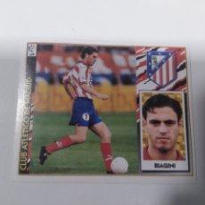 Cromos de Fútbol: CROMO EDICIONES ESTE LIGA 97 98 BAJA BIAGINI ATLÉTICO MADRID SIN PEGAR. Lote 221627058