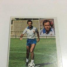 Cromos de Fútbol: CROMO LIGA 81-82 ZUNZUNEGUI REAL ZARAGOZA FICHAJE 3 EDICIONES ESTE DESPEGADO. Lote 221627491