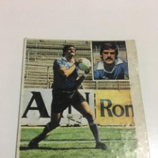 Cromos de Fútbol: CROMO LIGA 81-82 MONTES REAL VALLADOLID COLOCA EDICIONES ESTE DESPEGADO. Lote 221627752
