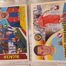 Cromos de Fútbol: ALCACER Y ANDRES FERNANDEZ CON ERROR. Lote 221628045
