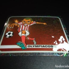 Cromos de Fútbol: 264 LOGO OLYMPIACOS STICKER CHAMPIONS OF EUROPE 1955 2005 2004 04 05 PANINI. Lote 221666530