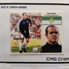 Cromos de Fútbol: VALERIO BETIS LIGA ESTE 1999-2000 / 99-00. Lote 221682085