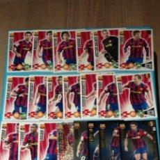 Cromos de Fútbol: ADRENALYN XL 2009-10 F.C.BARCELONA 21 CARDS. Lote 221703683