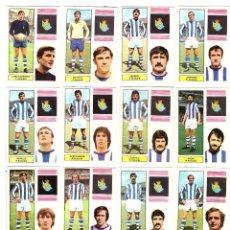 Cromos de Fútbol: LOTE DE 16 CROMOS DE FUTBOL ALBUM 1974-75 FHER: R. SOCIEDAD (EQUIPO COMPLETO) (SEP-20). Lote 221712066