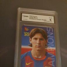 Cromos de Fútbol: #MESSI 2004 # 35 . CERTIFICADO GMA. Lote 221712137
