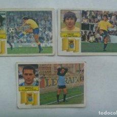 Cromos de Fútbol: LOTE DE 3 CROMOS DE FUTBOL DE LA LIGA 1982 - 83 , EDICIONES ESTE DE LA U.D. LAS PALMAS. Lote 221712308