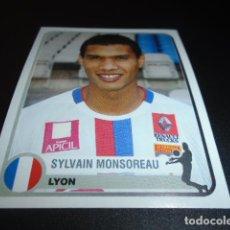Cromos de Fútbol: 201 SYLVAIN MONSOREAU LYON STICKER CHAMPIONS OF EUROPE 1955 2005 2004 04 05 PANINI. Lote 221712356