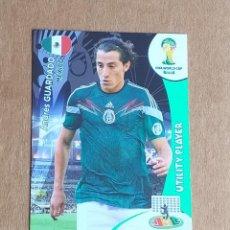 Cromos de Fútbol: CROMO DE GUARDADO MEXICO UTILITY PLAYER ADRENALYN XL FIFA WORLD CUP BRASIL 2014. ESTADO NOTABLE.. Lote 221712357