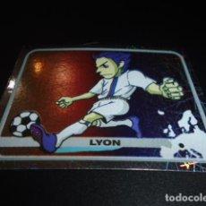 Cromos de Fútbol: 196 LOGO LYON STICKER CHAMPIONS OF EUROPE 1955 2005 2004 04 05 PANINI. Lote 221712893