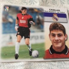 Cromos de Fútbol: LIGA DE FUTBOL ESTE 99-00 , 1999-2000 , CASILLAS ULTIMOS FICHAJES, 10 BIS , REAL MADRID. Lote 221712927
