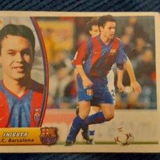 Cromos de Fútbol: 03 04 ESTE BARCELONA ANDRES INIESTA ROOKIE. Lote 221713103