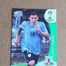 Cromos de Fútbol: CROMO DE MAXI PEREIRA UTILITY PLAYER ADRENALYN XL FIFA WORLD CUP BRASIL 2014. ESTADO NOTABLE.. Lote 221713223
