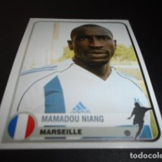 Cromos de Fútbol: 244 MAMADOU NIANG OLYMPIQUE DE MARSEILLE STICKER CHAMPIONS OF EUROPE 1955 2005 2004 04 05 PANINI. Lote 221713456