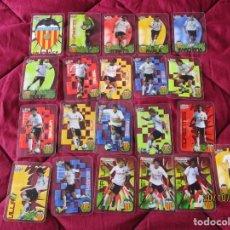 Cromos de Fútbol: CRYSTALCARDS. LIGA 2006 2007. EQUIPO DEL VALENCIA C.F.. (21 CROMOS, SIN REPETIDOS ) + SOBRE VACIO. Lote 221713533