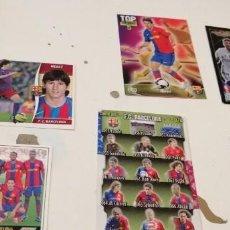 Cromos de Fútbol: C-KISS80 LOTE DE 6 CROMOS DE LEO MESSI O APARECE EL LIONEL VER FOTOS. Lote 221726212