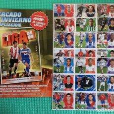 Cromos de Fútbol: LIGA ESTE-COMPLETO DE MERCADO DE INVIERNO LIGA- 2008 2009 - 08- 09 CROMOS DE FUTBOL ESTE-PANINI. Lote 221739202