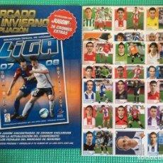 Cromos de Fútbol: LIGA ESTE-COMPLETO DE MERCADO DE INVIERNO LIGA- 2007- 2008 - 07- 08 CROMOS DE FUTBOL ESTE-PANINI. Lote 221739220
