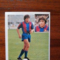 Cromos de Fútbol: VICTOR ( F.C. BARCELONA ) - ESTE 81/82 1981/82 ULTIMOS FICHAJES NÚMERO 1 - SIN PEGAR NUEVO VERSIÓN. Lote 221773032