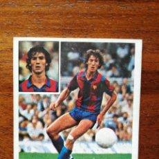 Cromos de Fútbol: MORATALLA ( F.C. BARCELONA ) - ESTE 81/82 1981/82 ULTIMOS FICHAJES NÚMERO 7 - SIN PEGAR NUEVO. Lote 221772470