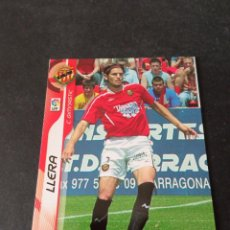 Cromos de Fútbol: 150 LLERA GIMNASTIC TARRAGONA MEGACRACKS PANINI ALBUM LIGA 2006 2007 06 07 NO ESTE. Lote 221863080