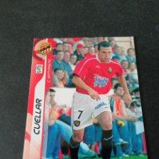 Cromos de Fútbol: 156 CUÉLLAR GIMNASTIC TARRAGONA MEGACRACKS PANINI ALBUM LIGA 2006 2007 06 07 NO ESTE. Lote 221863308