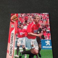 Cromos de Fútbol: 160 DIEGO TORRES BAJA GIMNASTIC TARRAGONA MEGACRACKS PANINI ALBUM LIGA 2006 2007 06 07 NO ESTE. Lote 221863397