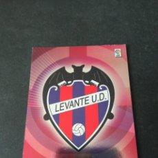 Cromos de Fútbol: 163 ESCUDO LEVANTE MEGACRACKS PANINI ALBUM LIGA 2006 2007 06 07 NO ESTE. Lote 221863475