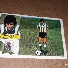 Cromos de Fútbol: CHAPARRO FICHAJE 28 BIS NUNCA VISTO NUEVO SIN PEGAR ,LIGA 1982-83 ESTE. Lote 221899035
