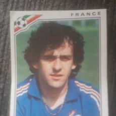 Cartes à collectionner de Football: CROMO MÉXICO 86 PANINI STICKER PLATINI #175. Lote 221913158