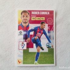Cromos de Fútbol: CROMO ROBER CORREA (EIBAR) Nº 9 B - LIGA ESTE 2020/2021 - 20/21. Lote 221918130
