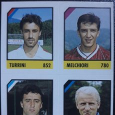 Cromos de Fútbol: FIGURINA MICRO CALCIO 90-91 VALLARDI 1991 TRAPATTONI INTER COACH REGGIANA PESCARA TARANTO. Lote 221918138