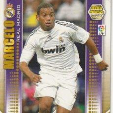 Cromos de Fútbol: MEGACRACKS 2009 2010 Nº 134 MARCELO DEL REAL MADRID ,PANINI. Lote 221918248