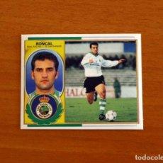 Cromos de Fútbol: RACING DE SANTANDER - RONCAL - EDICIONES ESTE 1996-1997, 96-97 - NUNCA PEGADO. Lote 221918253
