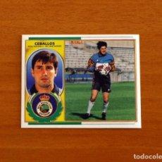 Cromos de Fútbol: RACING DE SANTANDER - CEBALLOS - EDICIONES ESTE 1996-1997, 96-97 - NUNCA PEGADO. Lote 221918313
