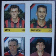 Cromos de Fútbol: FIGURINA MICRO CALCIO 90-91 VALLARDI 1991 MILAN GENOA TORINO SKORO OSVALDO BAGNOLI. Lote 221918772