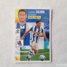 Cromos de Fútbol: CROMO ZALDÚA (REAL SOCIEDAD) Nº 4 - LIGA ESTE 2020/2021 - 20/21. Lote 221918957