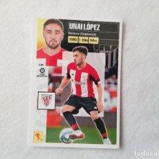 Cromos de Fútbol: CROMO UNAI LÓPEZ (ATHLETIC BILBAO) Nº 12 - LIGA ESTE 2020/2021 - 20/21. Lote 221919090