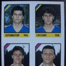 Cromos de Fútbol: FIGURINA CROMO MICRO CALCIO 90-91 VALLARDI 1991 VICTOR HUGO SOTOMAYOR VERONA BENITO CARBONE REGGINA. Lote 221998183