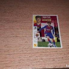 Cromos de Fútbol: ESTE 20/21 RIQUI PUIG BARCELONA SERIE 10 13 B. Lote 222011216