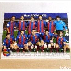 Cromos de Fútbol: MEGACRACKS 2004 2005 04 05 BARÇA CAMPIÓ PANINI RONALDINHO ALINEACIÓN Nº 135 BARCELONA ALBUM LIGA. Lote 222024956