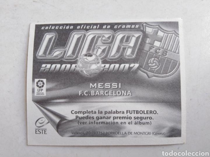Cromos de Fútbol: Messi cromo liga 2006-2007 ( ediciones este ) - Foto 2 - 222029880