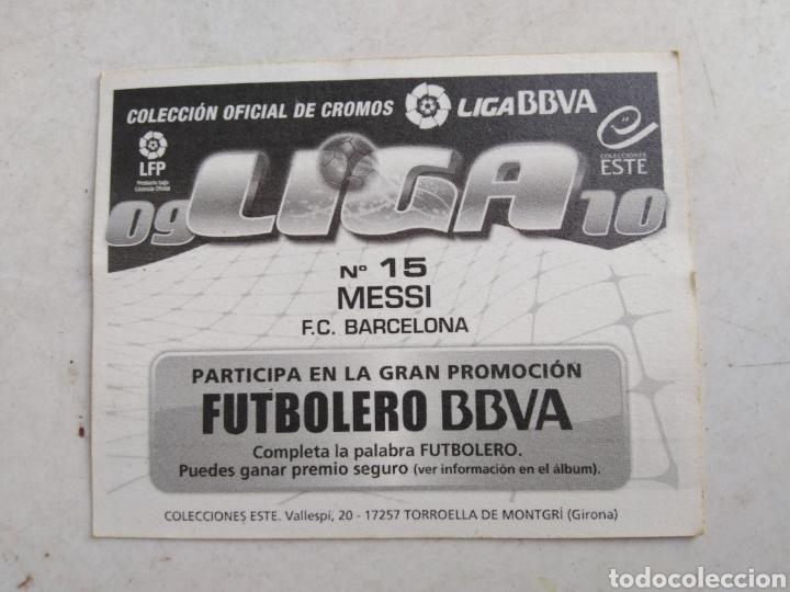 Cromos de Fútbol: Messi cromo liga 2009-2010 ( ediciones este ) - Foto 2 - 222030355