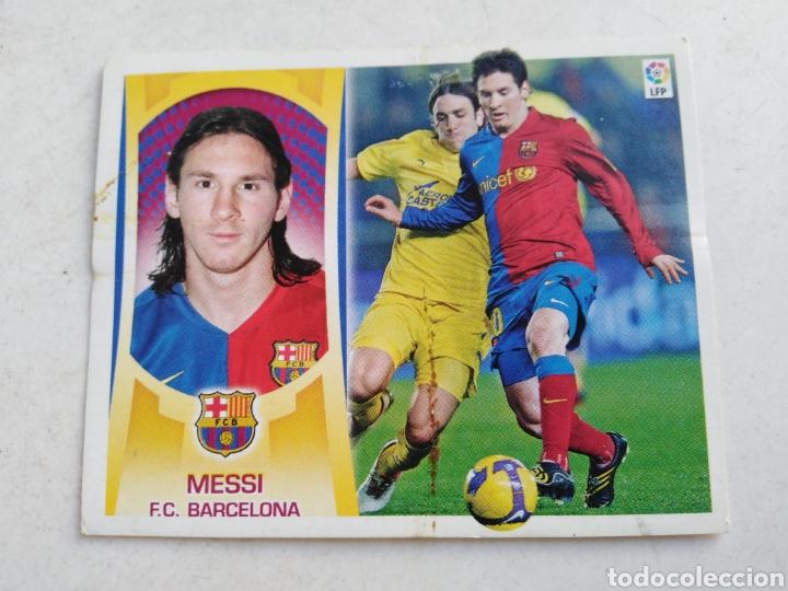 MESSI CROMO LIGA 2009-2010 ( EDICIONES ESTE ) (Coleccionismo Deportivo - Álbumes y Cromos de Deportes - Cromos de Fútbol)