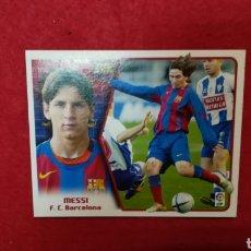 Cromos de Fútbol: MESSI, LIGA 2005 2006. ESTE. F. C. BARCELONA. NUEVO IMPECABLE. Lote 222043701