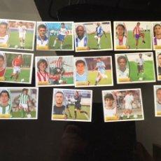 Cromos de Fútbol: LOTE DE 14 FICHAJES Y 14 COLOCAS LIGA 2003-2004 NUNCA PEGADOS EDICIONES ESTE. Lote 222057871
