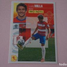 Cromos de Fútbol: CROMO DE FUTBOL MILLA DEL GRANADA C.F. SIN PEGAR Nº 13 LIGA ESTE 2020-2021/20-21. Lote 222063127