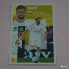 Cromos de Fútbol: CROMO DE FUTBOL NACHO DEL REAL MADRID C.F. SIN PEGAR Nº 6 B LIGA ESTE 2020-2021/20-21. Lote 222063198